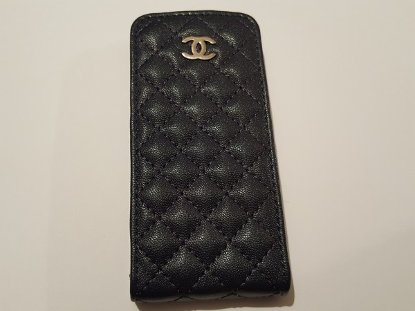 Чехол на iphone4 CHANEL синий  15003