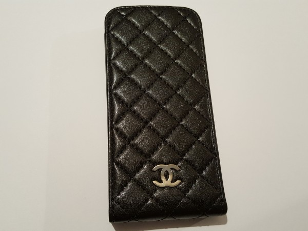 Чехол на iphone5 CHANEL черный  15011