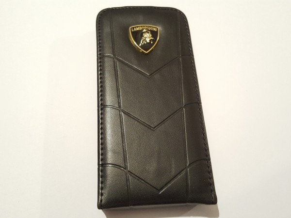 Чехол на iphone5 LAMBORGHINI черный  15025
